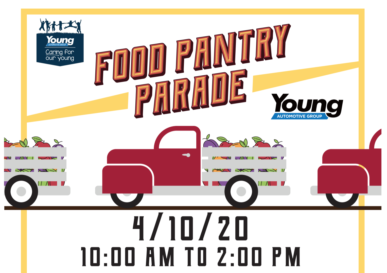 Young Automotive Food Pantry Parade