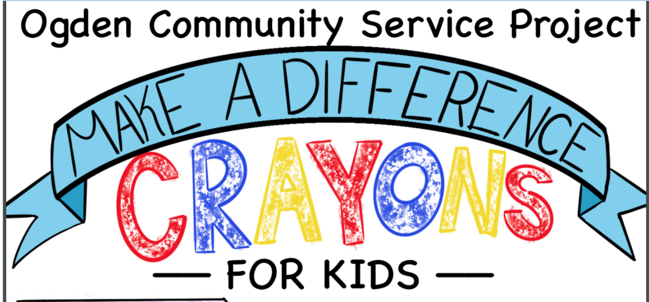 Crayons for Kids Service Project