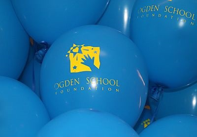 Balloons with Foundation Logo