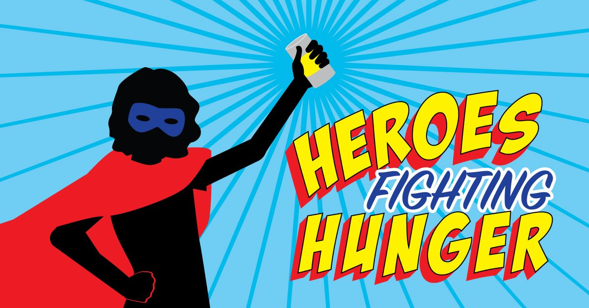 Heroes Fighting Hunger Event