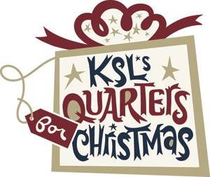 KSL Quarters for Christmas Donation